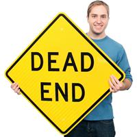 Dead End - Traffic Sign