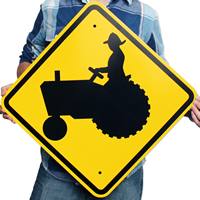 Tractor Symbol - Traffic Signs