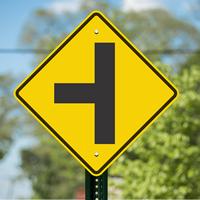 Side Road (Symbol) - Traffic Signs