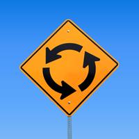 Circular Intersection (Symbol) - Traffic Signs