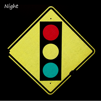 Traffic Light Ahead Sign