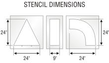 Stencil ST 0068