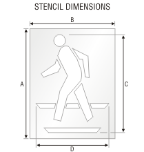 Stencil ST 0086