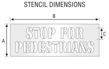 Stencil ST 0192