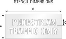 Stencil ST 0240