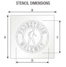 Stencil ST 0322