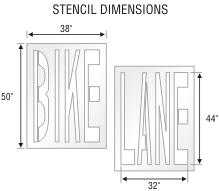 Stencil ST 0328