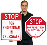 Stop for Pedestrians!