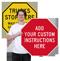 Customizable Octagonal Sign Template