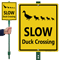 Duck Crossing Sign