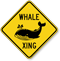 Whale Xing Animal Crossing Sign